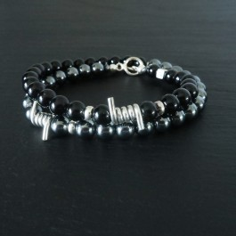 GREAT ESCAPE FOR HER HEMATITE ONYX